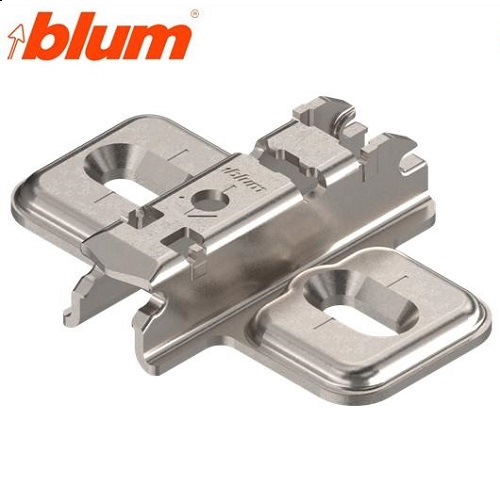 Blum Base Bisagra Cruz Altura 3mm.Atornillar.