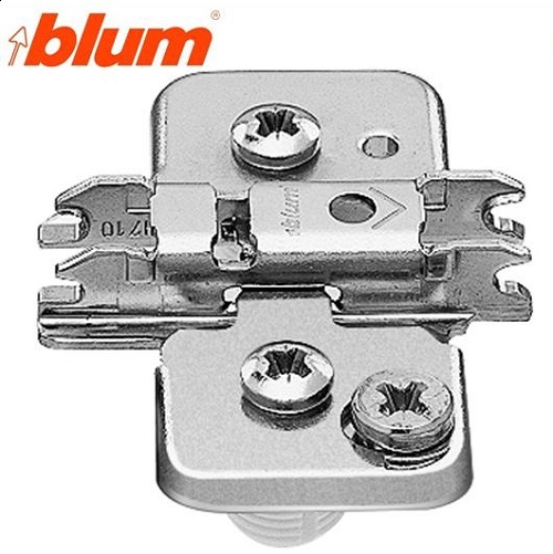 Blum Base Bisagra Cruz Excentrica Altura 0mm.Taco 10mm.
