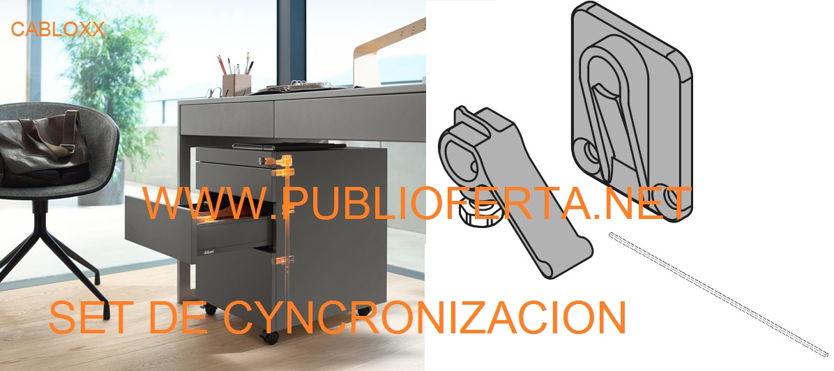 Blum Set de Sincronización CABLOX.